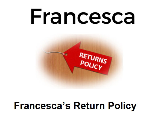 Francesca's Return Policy