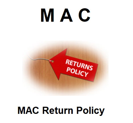 MAC Return Policy