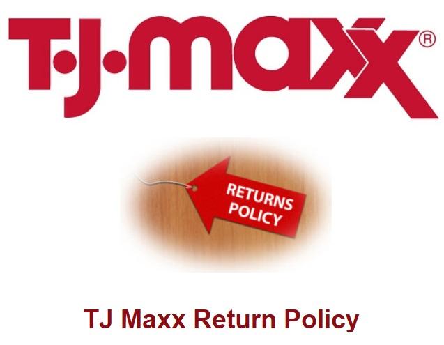 TJ Maxx Return Policy