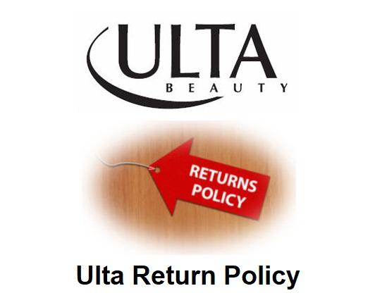 Ulta Return Policy help