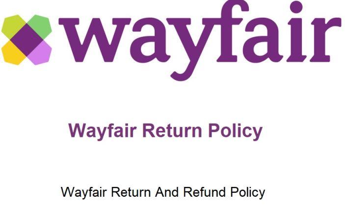 Wayfair Return Policy